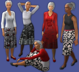 Повседневная одежда - Страница 2 Djg22