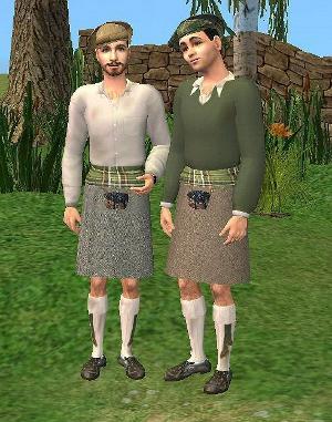 Старинные наряды, костюмы - Страница 2 Djgf260