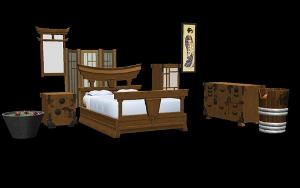 Спальни, кровати (восточные мотивы) - Страница 3 Djgfs250