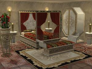 Спальни, кровати (восточные мотивы) Djgfs79