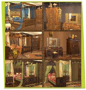 Спальни, кровати (восточные мотивы) - Страница 3 Djgfs81