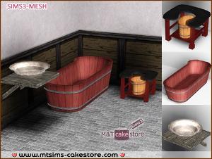 Ванные комнаты (восточный мотив) Dk161
