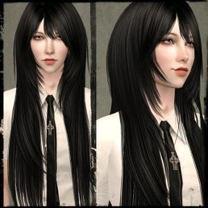Мужские прически (длинные волосы) - Страница 3 Dk413