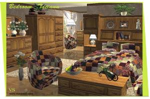 Спальни, кровати (антиквариат, винтаж) Dk84