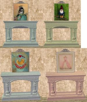 Мелкие декоративные предметы - Страница 2 Dkj105