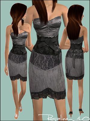 Повседневная одежда (платья, туники, комплекты с юбками) - Страница 2 Foru1048