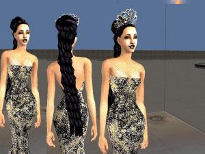 Женские прически (длинные волосы) - Страница 4 Foru1055