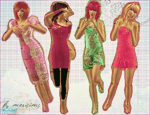 Повседневная одежда (платья, туники, комплекты с юбками) - Страница 2 Foru1057