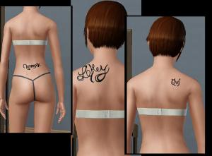 Татуировки Foru1194