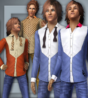 Повседневная одежда (свитера, футболки, рубашки) - Страница 2 Forum194