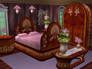 Спальни, кровати (восточные мотивы) Forum64
