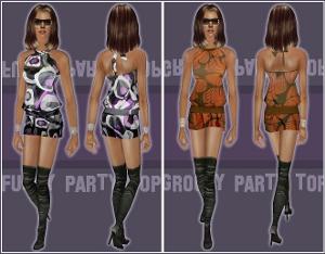 Повседневная одежда (платья, туники, комплекты с юбками) Forum711