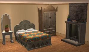 Спальни, кровати (средневековье) Lsr270