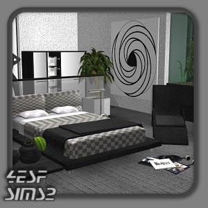 Спальни, кровати (модерн) Lsr544