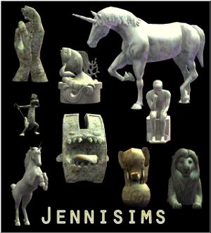 Фонтаны, статуи - Страница 2 Lsr598