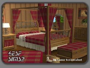 Спальни, кровати (деревенский стиль) - Страница 4 Mbt217