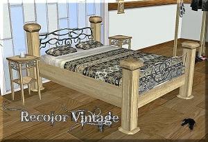 Спальни, кровати (антиквариат, винтаж) - Страница 9 Mbt337