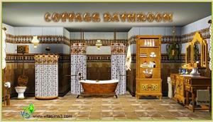Ванные комнаты (деревенский стиль) Skg169