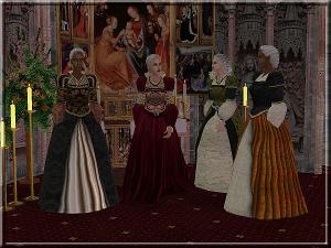 Старинные наряды Skg93