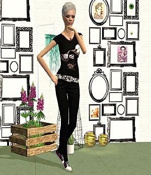 Повседневная одежда - Страница 4 W-600229