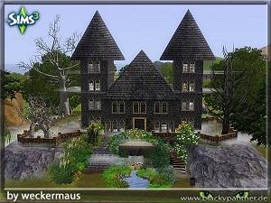 Замки, дворцы - Страница 6 W-600260