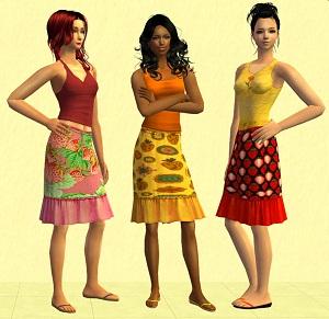 Повседневная одежда (юбки, брюки, шорты) - Страница 2 W-600262