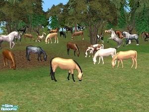Животные (скульптуры) W-600h63