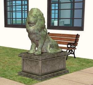 Фонтаны, статуи W-600h65