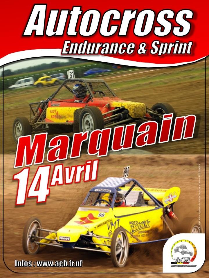 course auto cross 14/04/2012 Affich11