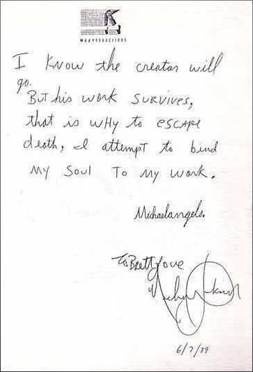 Appunti e scritti a mano di Michael 38363910