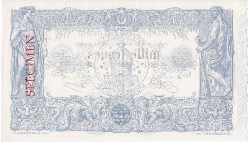 Emissions d'Algérie en billet avant 1962 Algari22