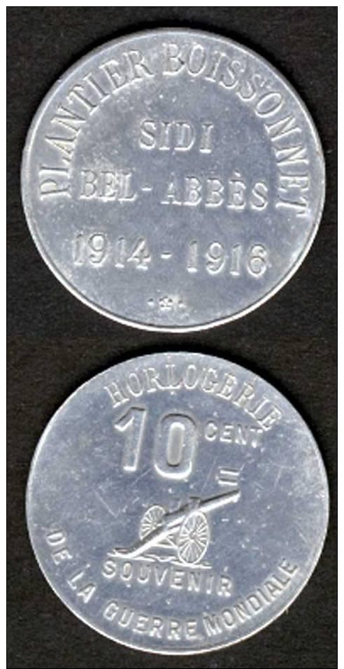 Pièces de nécessité coloniales Alger_11
