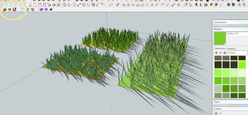 Adapter une photo - Modèle Sketchup déformé Jardin10