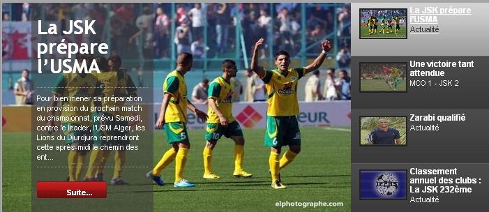 [L1, Journée 09] JS.Kabylie 0 - 0 USM.Alger (Après match) 20111111