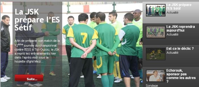 [L1, Journée 12] JS.Kabylie 2 - 2 ES.Sétif (Aprés match) 20111124