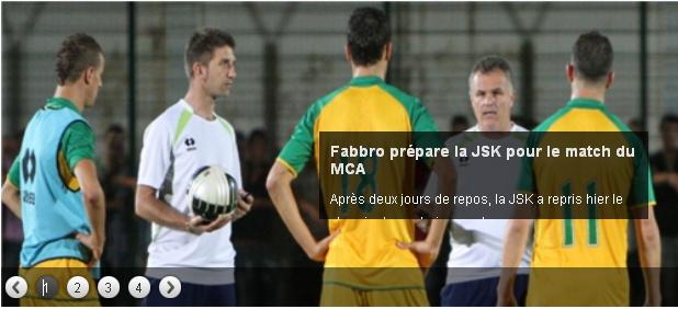 [L1 - Journée 10] JS.Kabylie 0 - 1 MC.Alger (Après Match) 20121113