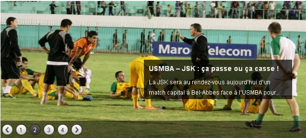 [L1, Journée 11] USM.Bel Abbes 1 - 0 JS.Kabylie (Après match) - Page 2 20121122