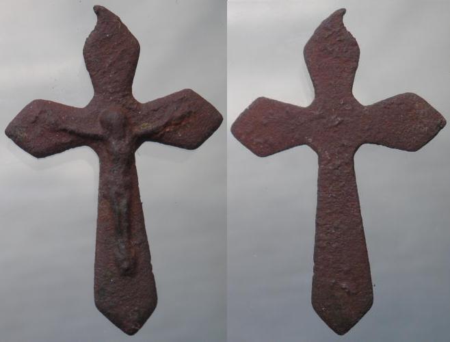 Petit crucifix - début XXème  Crux_015