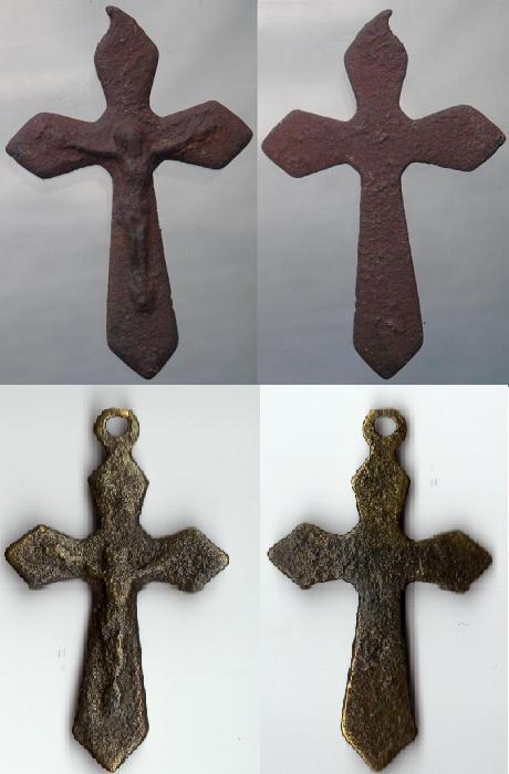 Petit crucifix - début XXème  Crux_017