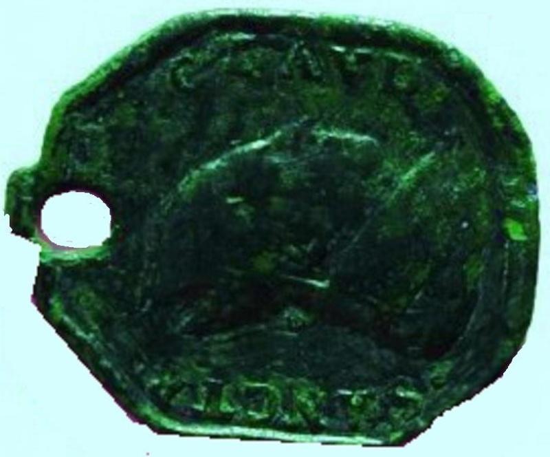 Médaille Vierge de Guadalupe et St-Claude-de-Besançon Dsc_3410