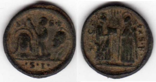 micro médaille St Thérèse - Isidore le Laboureur - Philippe Néri / XVIIème  Madail13