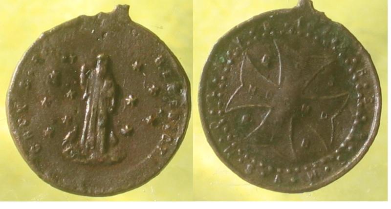 Médaille de St-Benoît Madail21