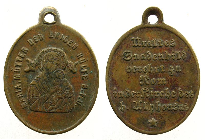 Une allemande - Vierge Marie/ND-du-Perpétuel-Secours S152-110