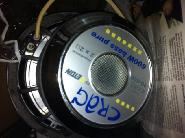 WTS: CRAIG audio 10 inch sub (ORIGINAL) Craig210