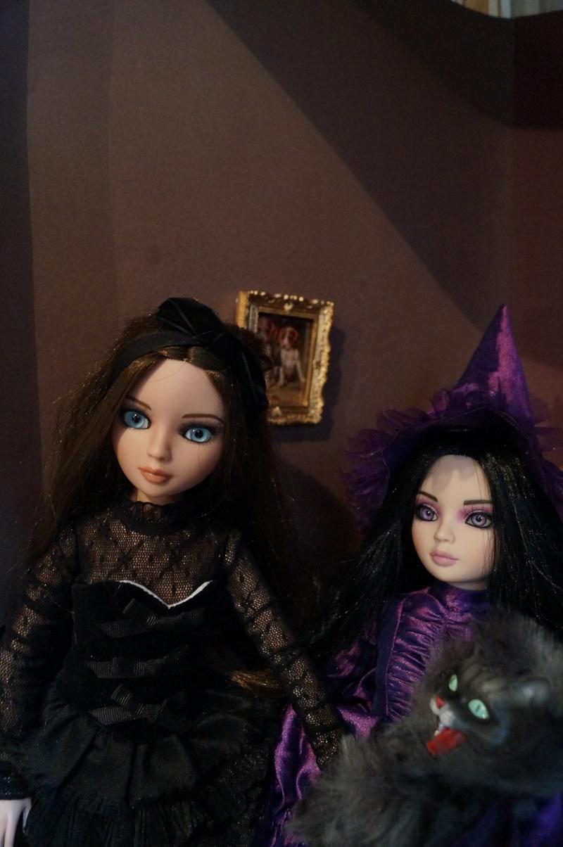 THEME DE NOVEMBRE 2012 : Le Noir , le gothique etc... Dsc00119