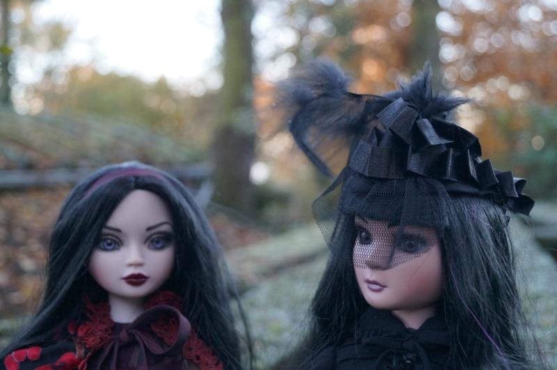 THEME DE NOVEMBRE 2012 : Le Noir , le gothique etc... Dsc00128