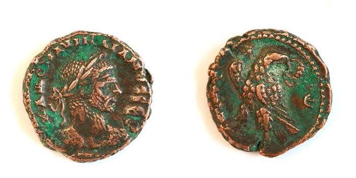 Bronzes d'aurelien Alexandrie Aureli10