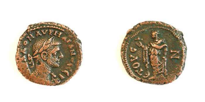 Bronzes d'aurelien Alexandrie Aureli11