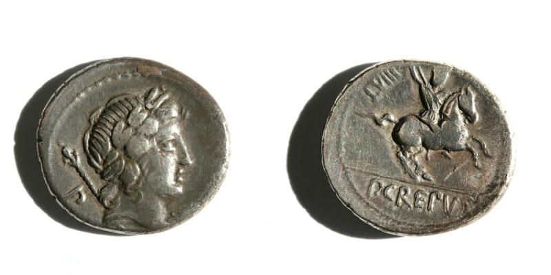 Denarius de Crepusius Crepuc11