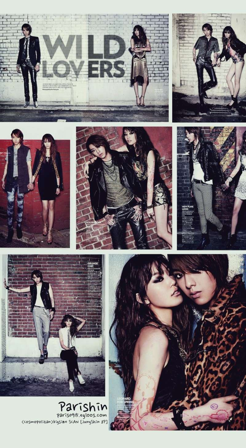 [Scans] The Wild Lovers @ COSMOPOLITAN - May 2012 00010